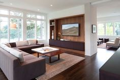 Charlie & Co. Design, Ltd. | contemporary built-in media wall
