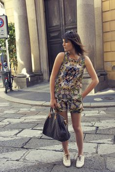 Onto My Wardrobe: Floral playsuit