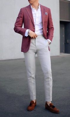 This is the ultimate one. Men with classy Shirt & a blazer over it paired with stylish loafers Mens Fashion Blazer, Mens Fashion Blog, Best Mens Fashion, Suit Fashion, Fashion Ideas, Gentleman Mode, Gentleman Style, Stylish Men, Men Casual