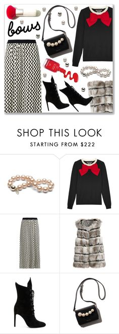 """bow"" by cilita-d ❤ liked on Polyvore featuring Boutique Moschino, Chloé, Calypso St. Barth and Kendall + Kylie"