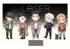 [FANART] Bigbang - LOSER