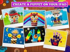 Just gorgeous to look at, Puppet Workshop Creativity App lets kids turn everyday objects into cheery characters