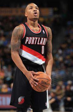 Damian Lillard - Portland Trail Blazers v Denver Nuggets
