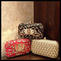 Bridal Clutch, Wedding Clutch, Beaded Clutch, Beaded Bags, Best Handbags, Luxury Handbags, Embellished Purses, Indian Accessories, Bag Pattern Free