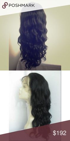 Lace remy wigs INDIAN REMY HUMAN HAIR FRENCH CURL FULL LACE WIG-BW0059  $192.00 Accessories Hair Accessories