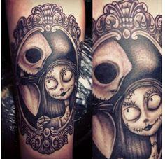 Jack sally tattoo.