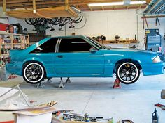 Fox Body With Classic Cobra R Wheels With So Many New