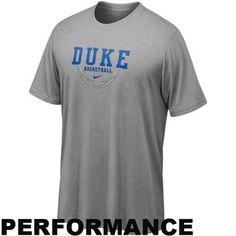 Nike Duke Blue Devils Ash Basketball Legend Performance T-shirt -  25 Dodgers  Outfit 9b0e00032