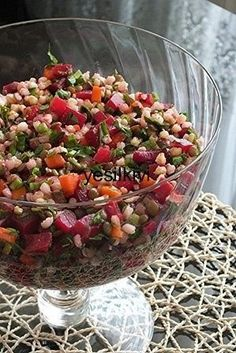 Rote Beete hier … – This is the first time I have had a salad. Beets here … – Appetizer Salads, Appetizers, Turkish Salad, Roasted Eggplant Dip, Red Beets, Turkish Recipes, Perfect Food, Creative Food, Vegetable Recipes