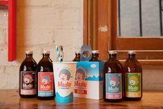 Evocative milkshake branding takes a step back in time | Branding | Creative Bloq