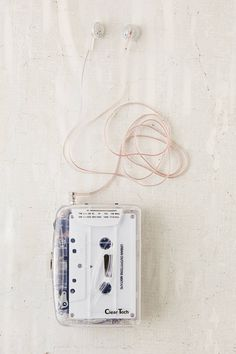 Slide View: 4: Clear Cassette Player