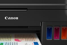 Tired of buying ink cartridges? Canon's G-series printers offer refillable tanks