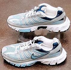 e9b5ce172 Nike Air Zoom Trail all terrain 315463-441 Gray Blue White Womens Size 7.5  Cheap