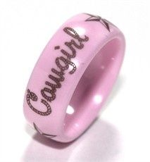 PINK! Cowgirl Ring