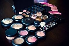 MAC... if you turn four empty or used mac products back into them, u can get a free lip color of your choice ;)
