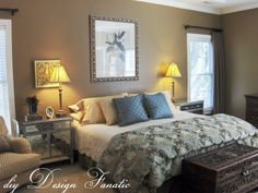 DIY Bedroom Makeovers For Apartments | diy Design Fanatic Decorating A Master Bedroom On A Budget: diy Design ...