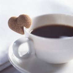 good idea: how cute are these?! brown sugar hearts that perch on the rim of a coffee or tea cup. £18 means they're out of my price range and consequently out of stock. but this idea has legs...