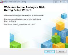 Installare Auslogic Disk Defrag -Prima Schermata Software, Chart