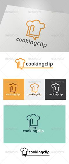 Cooking Clip Logo #GraphicRiver This logo design for all creative business. Consulting, Excellent logo,simple and unique concept. Logo Template Features AI and EPS (Illustrator 10 EPS) 300PPI CMYK 100% Scalable Vector Files Easy to edit color / text Ready to print Font information at the help file If you buy and like this logo, please remember to rate it. Thanks! Created: 3August13 GraphicsFilesIncluded: VectorEPS #AIIllustrator Layered: No MinimumAdobeCSVersion: CS Resolution: Resizable…