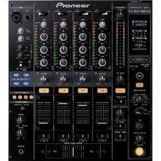 Pioneer DJM-800 Pro DJ Mixer. pariah