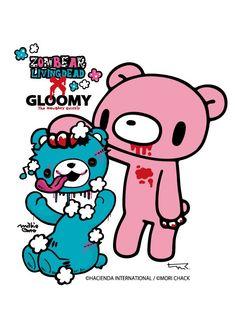 Wallpaper Stickers, Bear Wallpaper, Gothic Wallpaper, Horror Themes, Emo Art, Rawr Xd, Gothic Anime, Creepy Cute, Manga Illustration