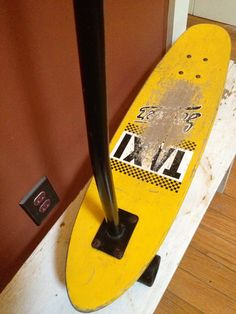 "1980's A California Co. ""TAXI"" Scooter Skateboard on Etsy, $45.00"