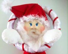Enfeite Porta Papai Noel