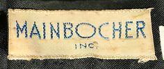 Mainbocher Inc., 1949.