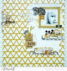 Studio Tekturek: July LIFT challenge and some results :) Scrapbooking, Scrapbook Layouts, Hip Kit Club, Mini Albums, Challenges, Sketches, Paper, Frame, Cards