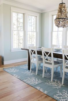 Most Design Ideas Coastal Dining Room Decor Pictures, And Inspiration – Modern House Shabby Chic Pink, Coastal Style, Coastal Decor, Coastal Cottage, Coastal Country, Coastal Rugs, Nautical Style, Coastal Farmhouse, Modern Coastal
