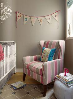 playful nursery | jute interiors via Ivy & Piper
