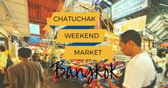 Der Chatuchak Markt in Bangkok ist eine beliebte Attraktion und angeblich der größte Open-Air-Markt der Welt. Alle Tipps zur Anreise, den Preise sowie eine übersichtliche Karte findest du hier... http://flashpacking4life.de/chatuchak-weekend-market-bangkok-guide-anreise-tipps-preise/
