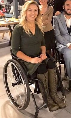 Wheelchairs, Leather Boots, Wheels, Beautiful, Women, Fashion, Moda, Women's, La Mode