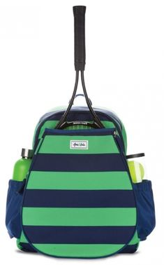 Check out our Sporty Ame & Lulu Ladies Game On Tennis Backpack! Find the best tennis gear and accessories at Lori's Golf Shoppe. Click through now to see this bag!