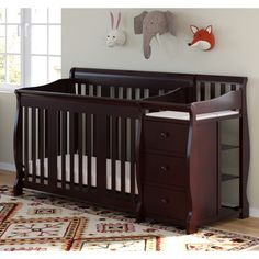 Have To Have It Sorelle Cape Cod Crib N Changer With Toddler Rail