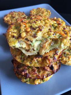 Galettes de lentilles corail, quinoa et légumes - Rachel cuisine