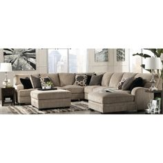 St Henri Leather Modular Lounge Suite Dream Home Ideas