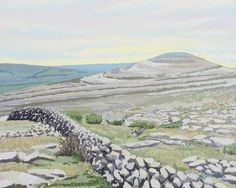 Items similar to Mullaghmore Burren Co Clare on Etsy Irish Art, Art For Sale, Ireland, How To Draw Hands, Mountains, Drawings, Artist, Prints, Artwork