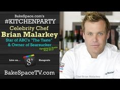 [Video] If you love #TopChef & ABCs The Taste, you'l love this candid interview with #Chef Brian Malarkey! Pin if you like! :)