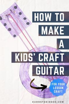 This guitar craft brings learning the letter G AND the delight of making noise into a cute little kids' craft that boys & girls will like. Needing to learn letters & having fun is part of growing up & educating children. This activity can combine both-then you can watch (and listen) as they make noise on their fun little guitars. Have fun listening to the children strumming fun little tunes to the alphabet song. #letterg #alphabetactivities #alphabet