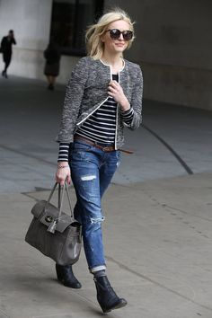 Pin for Later: Fearne's Fashion Parade: Everything Ms Cotton's Worn to Work in 2014 Fearne Cotton Street Style — March 2014