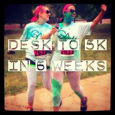 Desk to 5k in 6 Weeks ~ My Color Run Story~ Rayah Sunshine