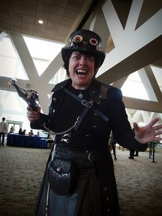 Steampunk Vampire by greyloch, via Flickr