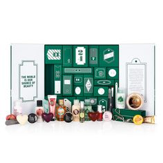The Body Shop 24 Happy Days Advent Calendar for Holiday 2015 #beauty