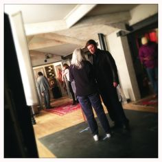 Nathan Fillion behind the scenes of Castle Season 5