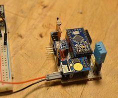 BackgroundI read about the ESP8266 first in March this year and I didn't know what to do with. And now I'm really fascinated how easy the connection o...