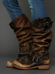 Free People Contra Washed Tall Boot - i absolutely LOVE these boots -$485