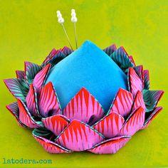 Protea Pincushion PDF Pattern