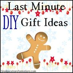 Inexpensive gift ideas using common household items to create inexpensive gift ideas, quick! (for those times you find out Christmas Eve you forgot someone on your list...yes this has happened to me)
