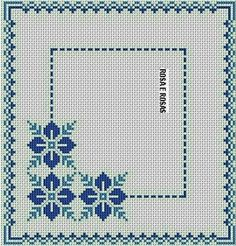 Cross Stitch Boarders, Cross Stitch Bookmarks, Cross Stitch Heart, Cross Stitch Alphabet, Cross Stitch Flowers, Cross Stitch Designs, Cross Stitching, Cross Stitch Patterns, Folk Embroidery